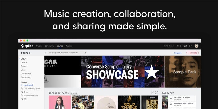 Splice - Music Collaboration Website