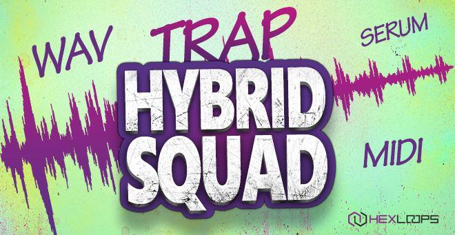 Trap Hybrid Squad Sample Pack