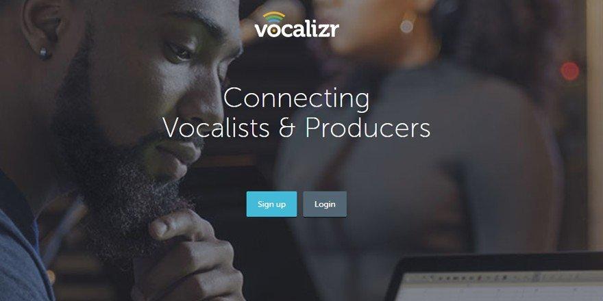 Vocalizr - Music Collaboration Website