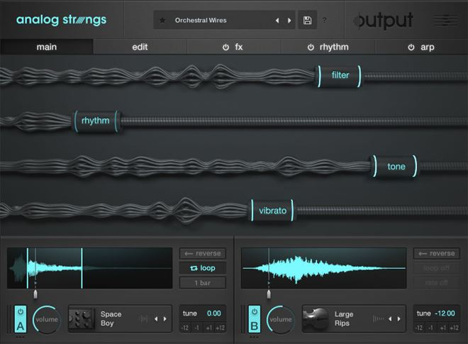 ANALOG STRINGS Kontakt Instrument
