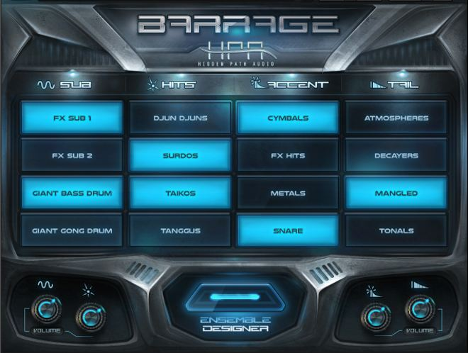 BARRAGE by Hidden Patch Audio