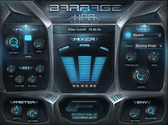 Barrage Kontakt Library
