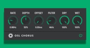 OSL Chorus Free Chorus Plugin (VST/AU) by Oblivion Soundlab