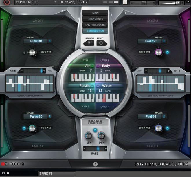 8dio Rhythmic Revolution for Kontakt