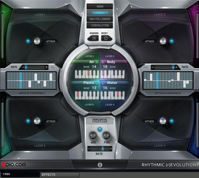Rhythmic Revolution for Kontakt