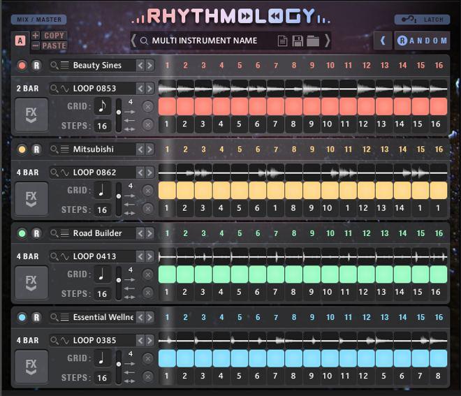RHYTHMOLOGY Kontakt Instrument