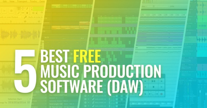 Top Best 5 Free Music Production Software DAW