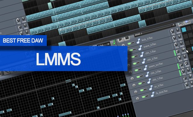 LMMS FREE DAW Music Software