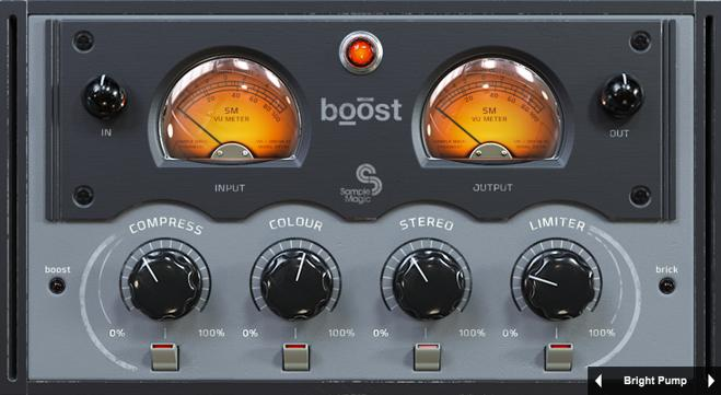 Sample Magic Boost Plugin