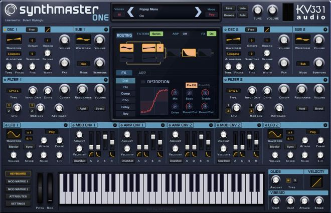SynthMaster One Synthesizer