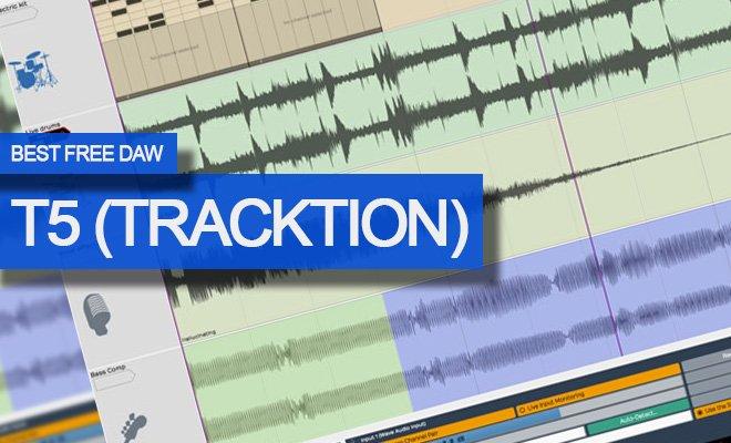 Tracktion T5 Free DAW