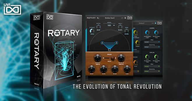 Rotary Amp Simulator Plugin Released by UVI • ProducerSpot