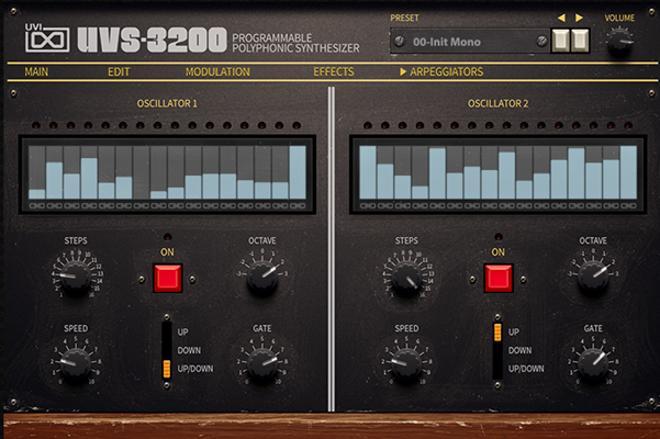UVS-3200 Arpeggiators