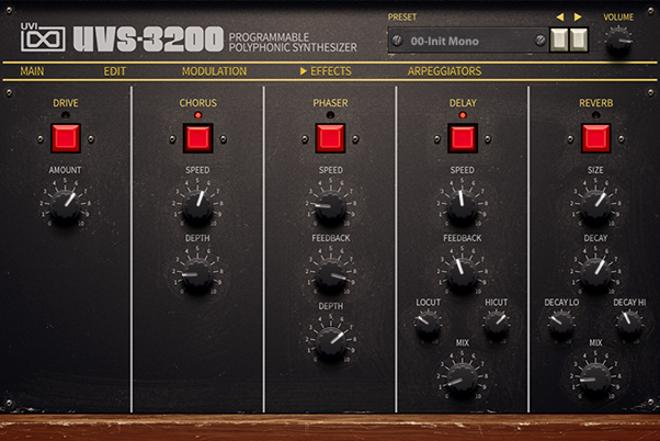 UVS-3200 VST Plugin