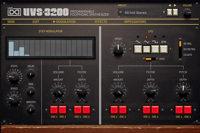UVS-3200 Modulation
