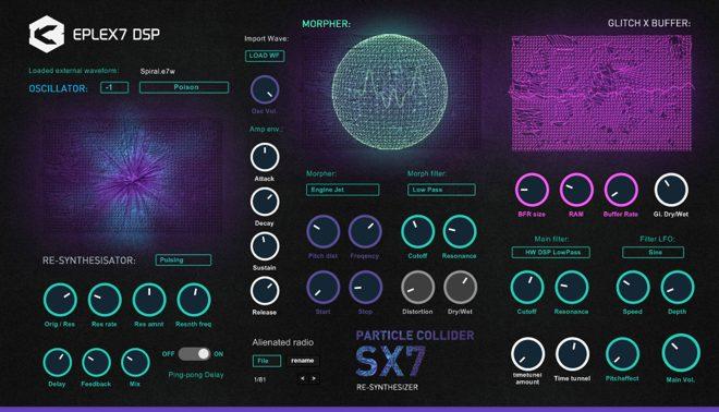 Particle Collider SX7