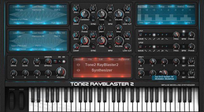 RayBlaster2 Synthesizer