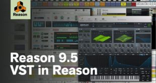 Reason 9.5 VST Plugins Support