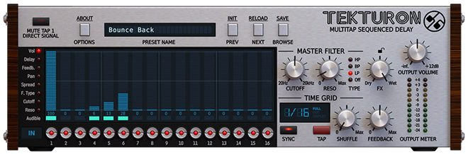 Tekturon Delay VST Plugin by D16 Group