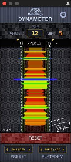 Dynameter Metering Plugin VST by MeterPlugs