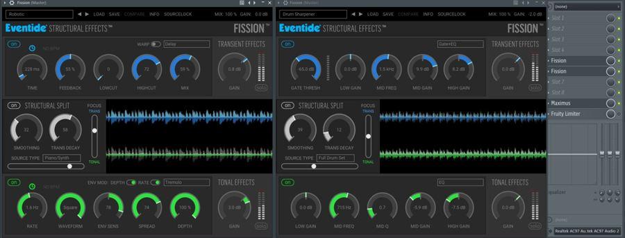 Fission FL Studio Screen