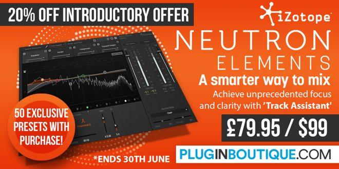 Neutron Elements Plugin Released by iZotope