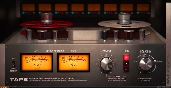 TAPE Saturation VST Plugin