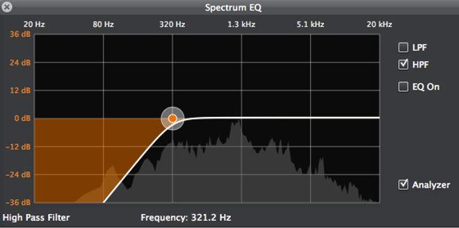 Spectrum EQ