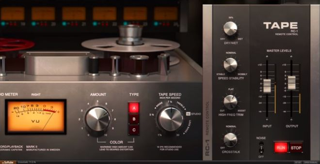 Softube Tape Plugin