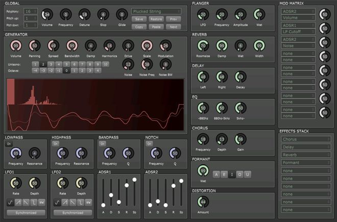 Tunefish 4 Free VST Instrument