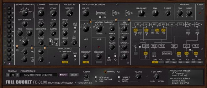 FB-3100 FREE Synth VST Plugin