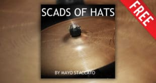 28 FREE Hi-Hat Samples Released by Mayo Staccato