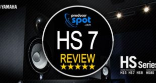 Review Yamaha HS7 Studio Monitors