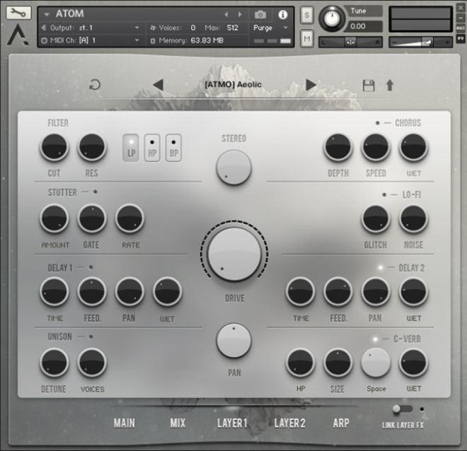 Atom Virtual Instrument Effects