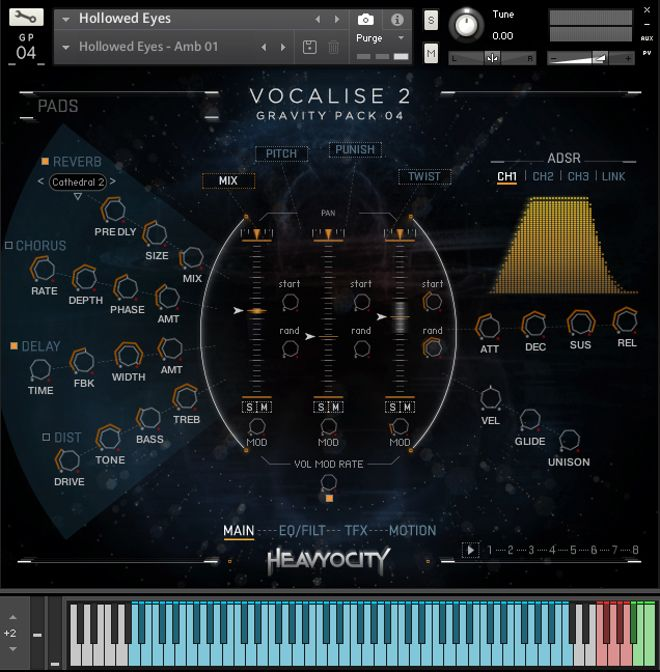Vocalise 2 GRAVITY Pack by Heavyocity