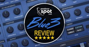 Review: Blue3 Software Synth Plugin by GG Audio