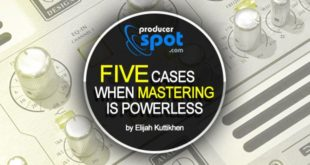 Five Cases When Audio Mastering is Powerless
