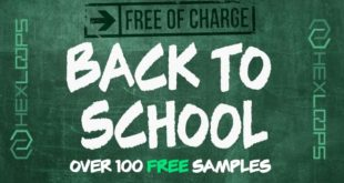 "FREE ""BACK TO SCHOOL"" Drum Samples by Hex Loops"