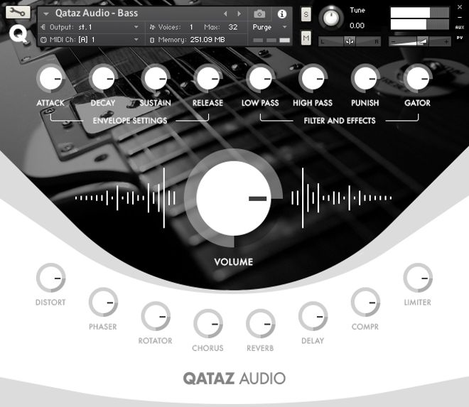 Qataz Audio Kontakt Interface