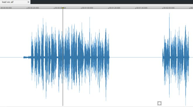 Vocal Recording Soundforge 12