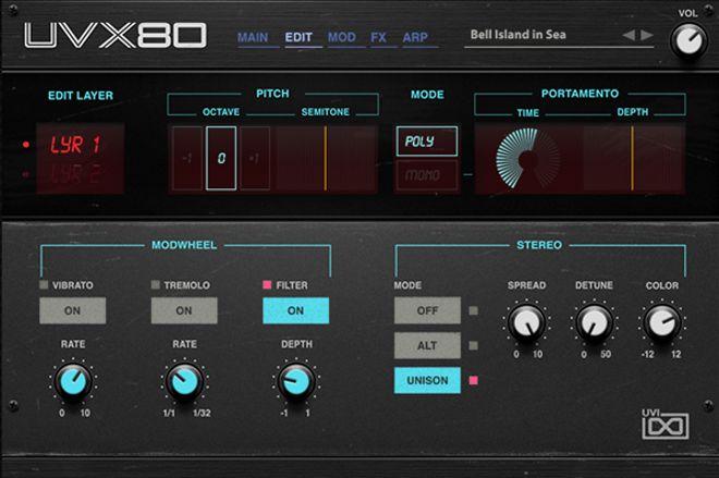 UVX80 by UVI