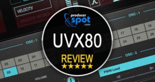 Review: UVX80 Vintage Virtual Synthesizer by UVI