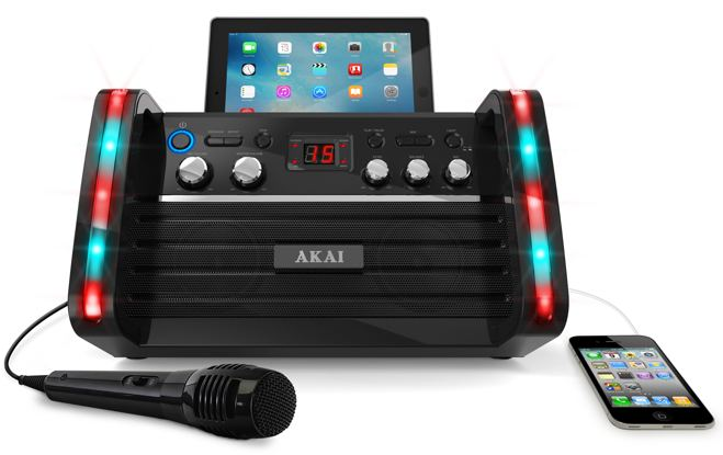 AKAI Portable Karaoke Machine