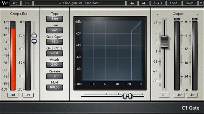 Waves Gate VST Plugin