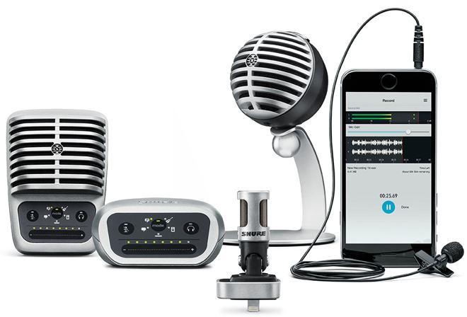 Shure Digital Condenser Microphones
