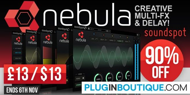 Nebula Creative Delay Plugin Released by SoundSpot
