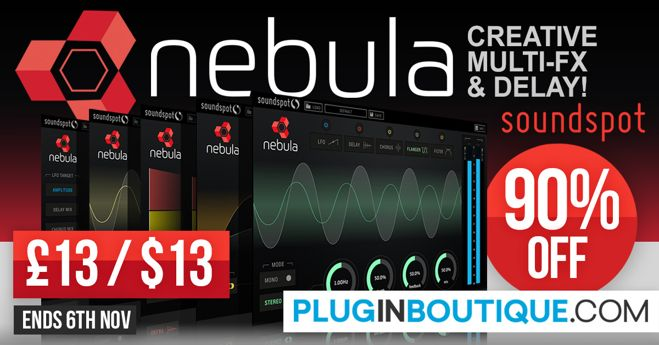 Nebula Delay VST Plugin