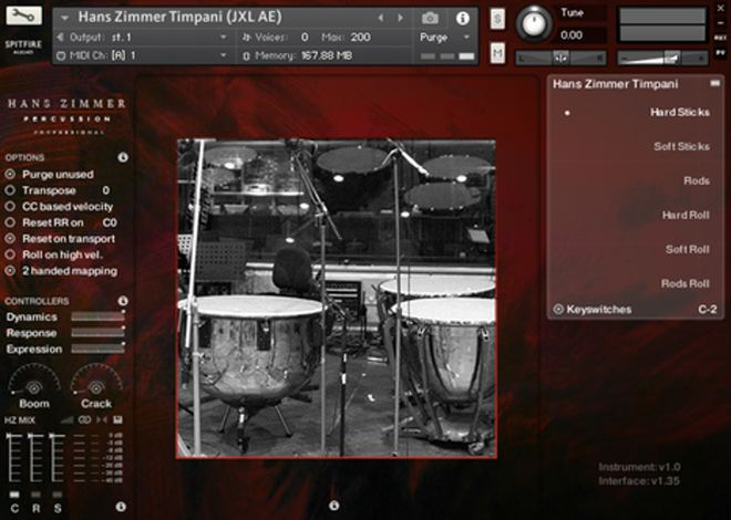 Hans Zimmer Percussion Kontakt Library
