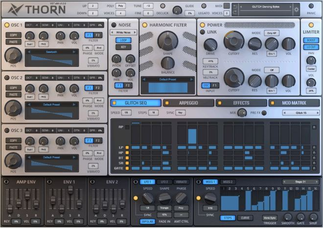THRON: A New Software Synthesizer by Dmitry Sches