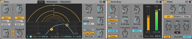 Ableton Live 10 Effects